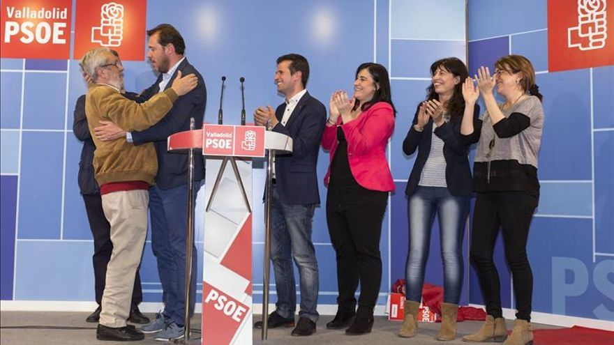 El PSOE busca un tripartito para el Ayuntamiento de Valladolid
