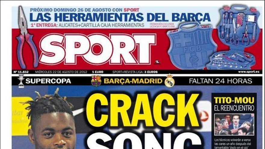 De las portadas del día (22/08/2012) #14