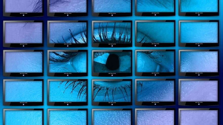 Un 'videowall' con 30 monitores, el ojo que todo lo ve en el interior de 'La torre'