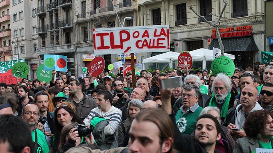 ILP o a la calle (cc) Maka Suarez