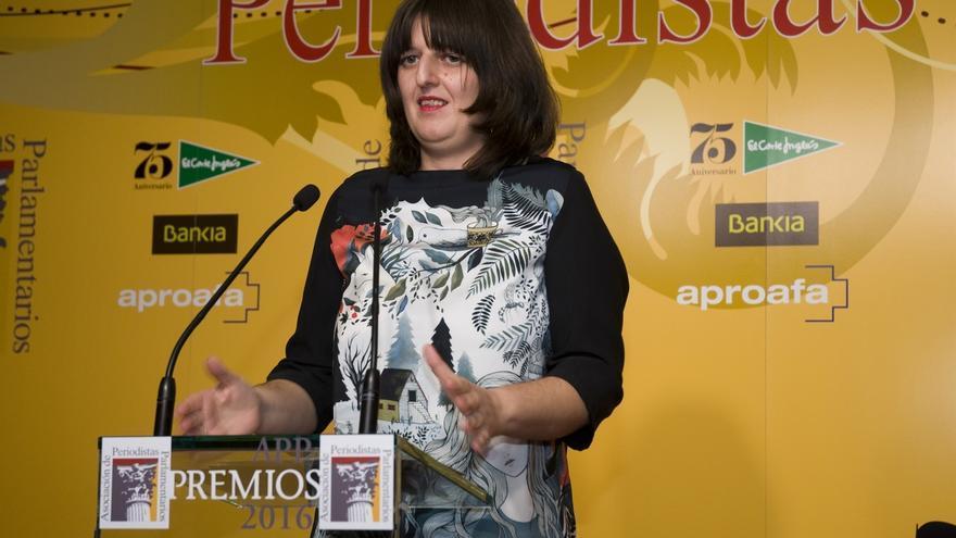 Lucía López Rojo, de Europa Press, premiada como Cronista Parlamentaria del año