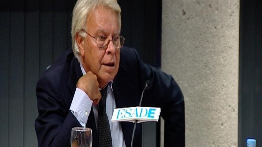 """Felipe González, sobre la petición de un rescate: """"Me parece increíble la indecisión en la que estamos"""""""