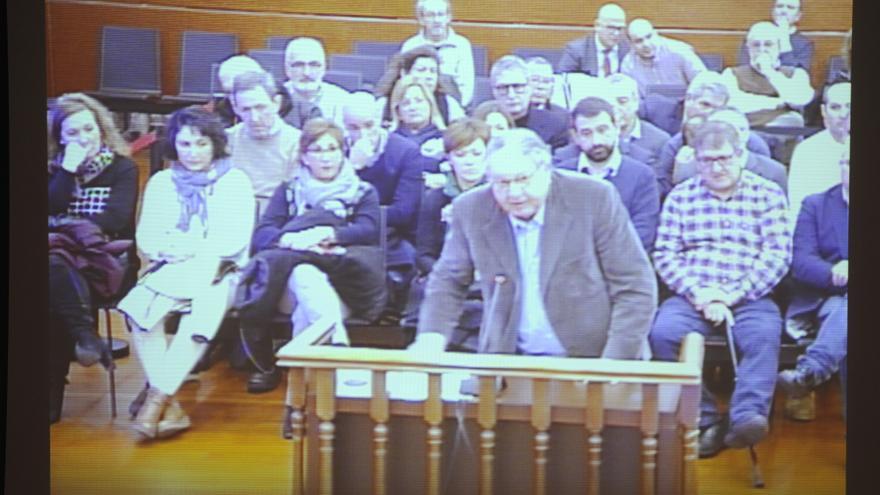 Francesc Fernández Joval, en el juicio