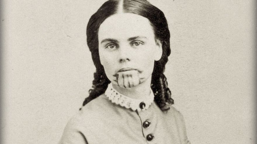Retrato de Olive Oatman. (DP)