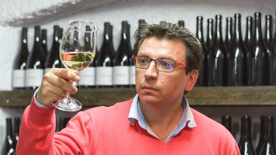 Carlos Rey, impulsor de los vinos Anadigna