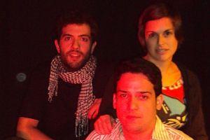 Ángel Málaga, Doriam Sojo y Eva Caballero, tres de los cuatro fundadores de Nudo | A.P.