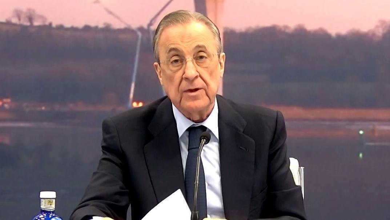 El presidente de ACS y del Real Madrid, Florentino Pérez