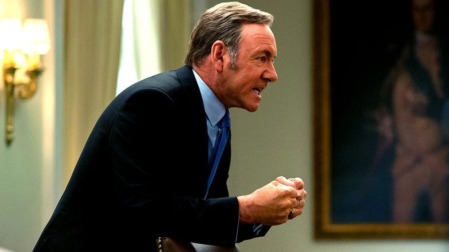 """Kevin Spacey en """"House of Cards"""""""