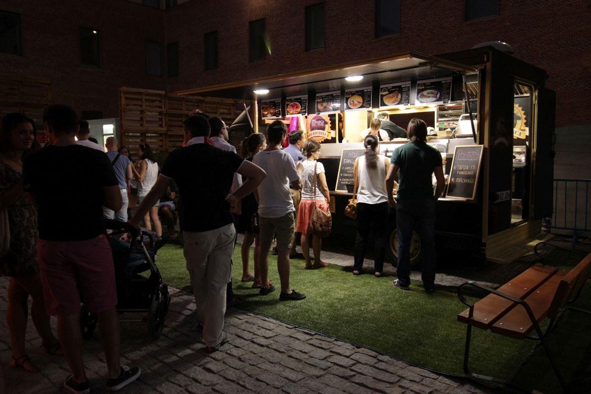 Uno de los Food Trucks | RAQUEL ANGULO