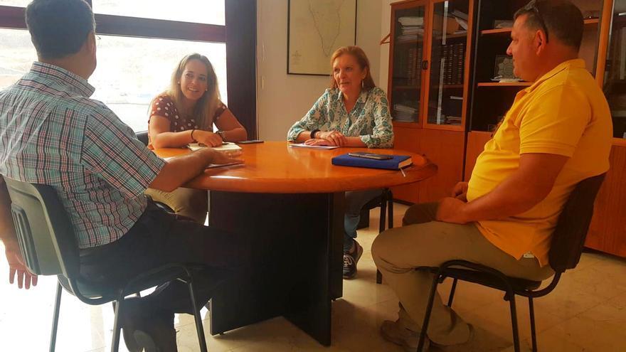 Reunión con Susana Machín.