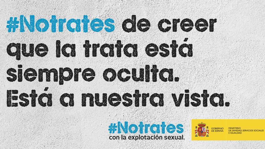 Campaña contra la prostitución del Ministerio de Igualdad