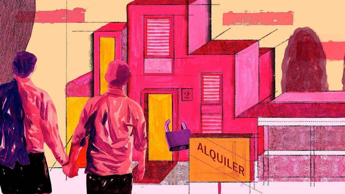 En Jalisco desde una inmobiliaria se negaron de venderle una casa a una pareja gay.