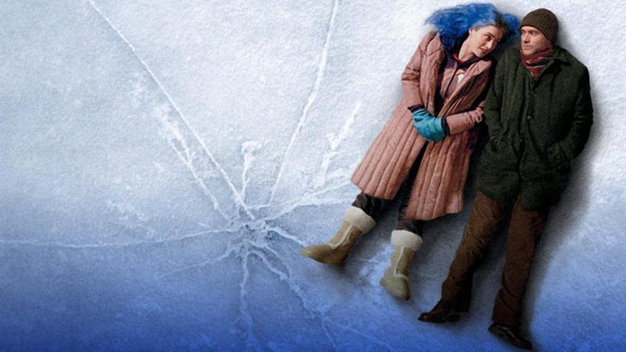 Kate Winslet y Jim Carrey en ¡Olvidate de mí!