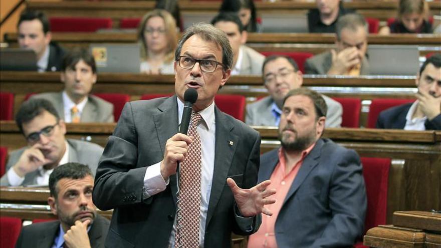 El Parlament reúne la Junta de Portavoces para concretar la comparecencia de Pujol