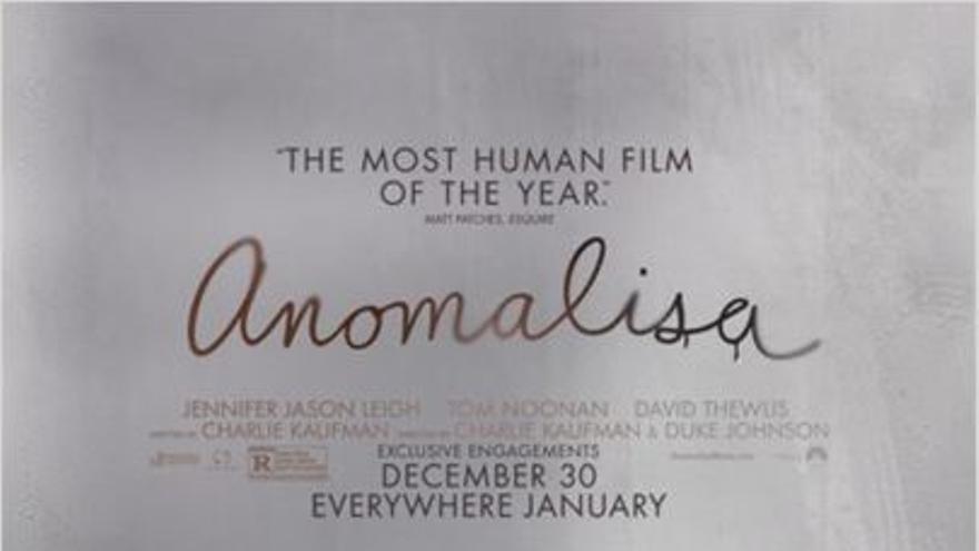 Cartel de 'Anomalisa'