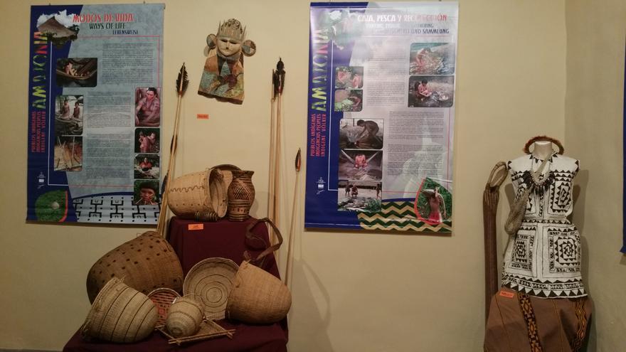 Exposición sobre la Amazonía en la Casa Salazar.