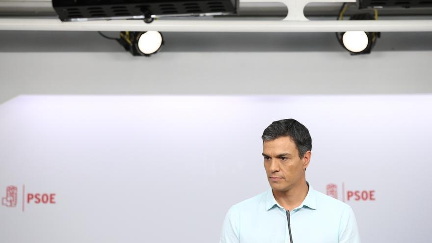 Pedro Sánchez no aclara si aspirará a ser candidato a la Moncloa si no consigue ser secretario general