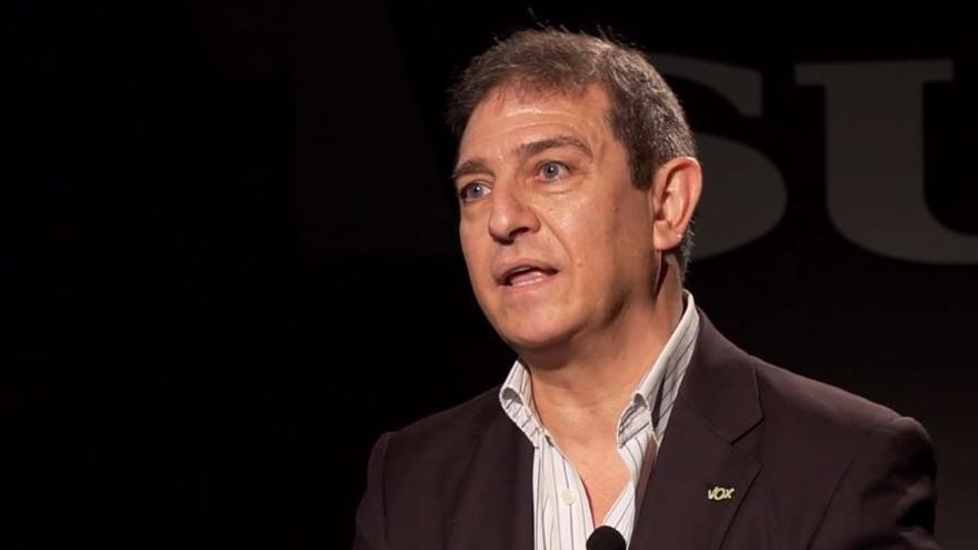 Eugenio Moltó, cabeza de lista de Vox por Málaga en las elecciones andaluzas