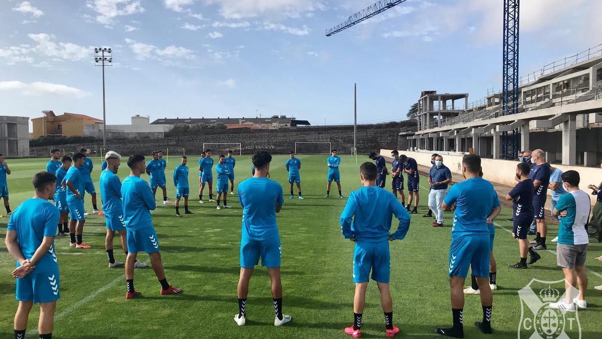 Entrenamiento del filial en la Ciudad Deportiva.