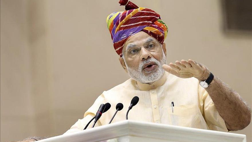 El hipercomunicativo Modi se vuelca en las redes para publicitar su gestión