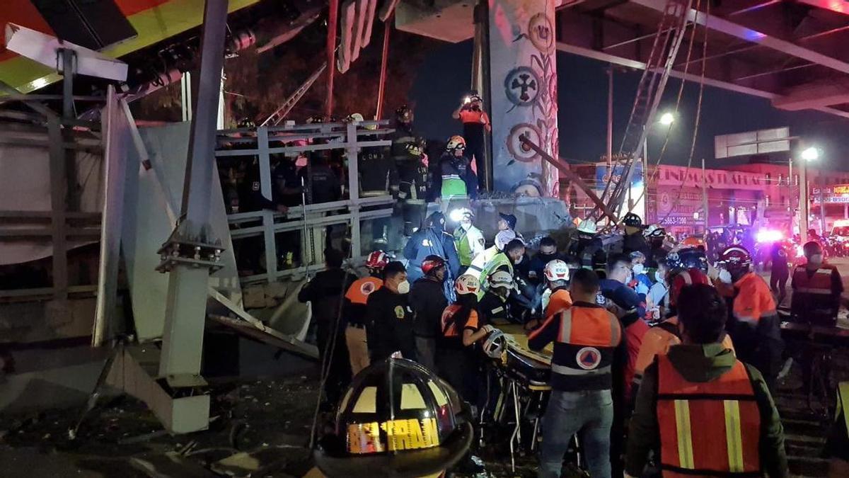 Accidente en la estación Olivos, en Ciudad de México