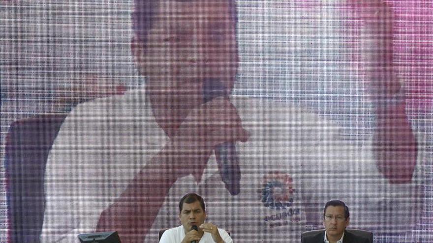 Correa reconoce el trabajo en investigación de Repsol en Ecuador