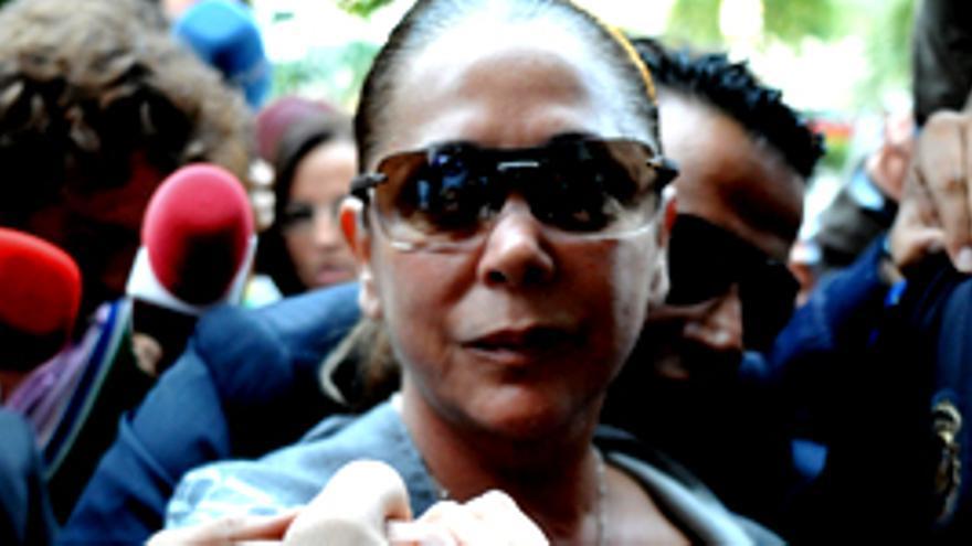"""Pantoja, a su llegada a los juzgados de Málaga: """"Soy inocente, no he robado a Marbella"""""""