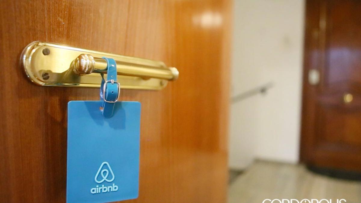 Un piso de Airbnb.