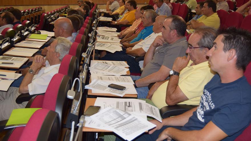 Asistentes a la asamblea