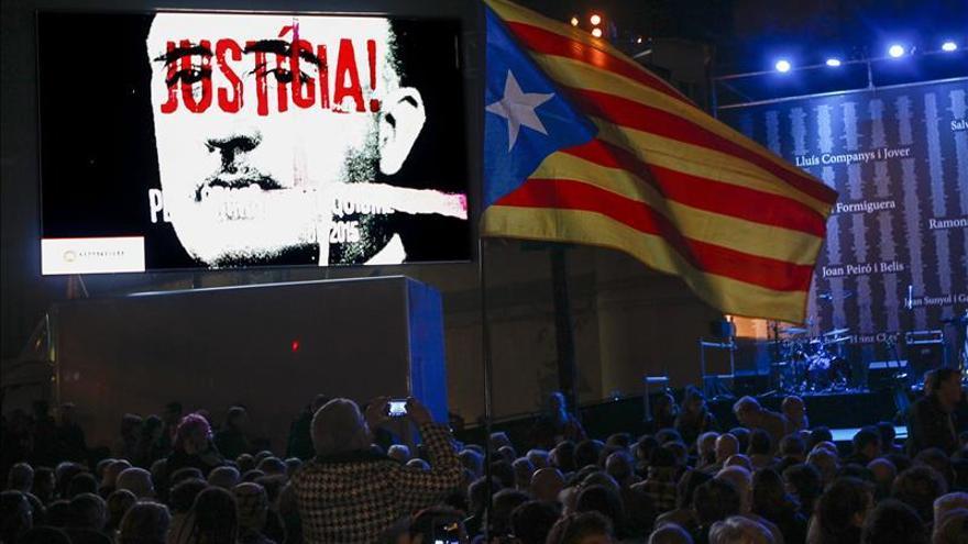 Protesta en La Modelo contra la impunidad de los crímenes del franquismo