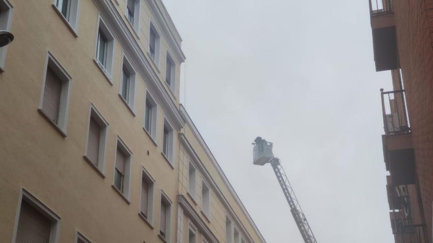 Incendio en el prostíbulo más grande de Madrid