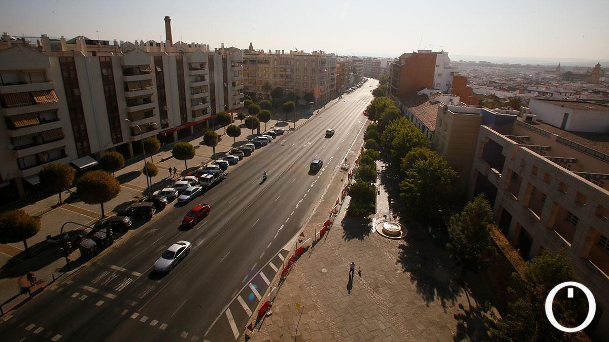 Avenidad de las Ollerías desde la Torre Malmuerta