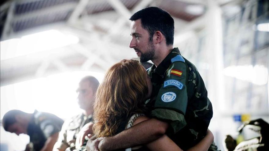 Un centenar de soldados desplegados en Líbano vuelven a España
