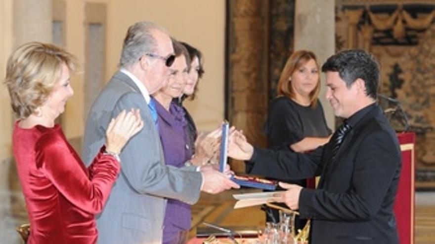 20111124. El Pardo - (Madrid). ESP. Los Reyes De España, Don Juan Carlos Y Doña