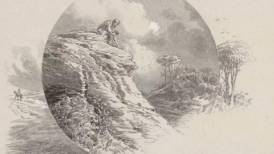 Penitencia de Don Quijote (Ricardo Balaca o Joseph-Luis Pellicer, 1880).