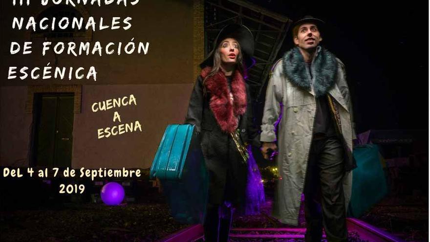 Cartel de las III Jornadas 'Cuenca a Escena'