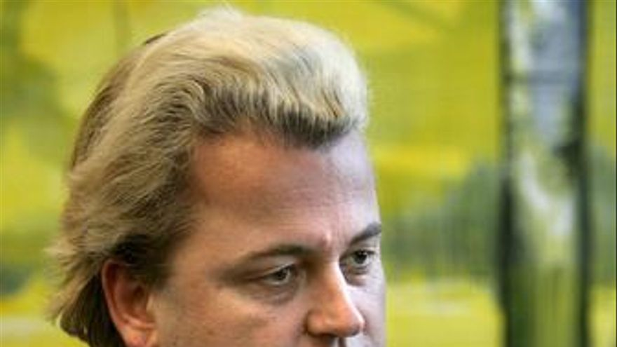 """El legislador neerlandés crítico con el Islam Geert Wilders en su documental """"Fi"""