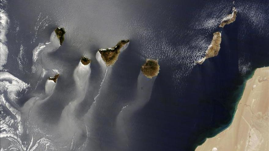 Una foto de satélite de Canarias opta de nuevo a imagen del año para la NASA