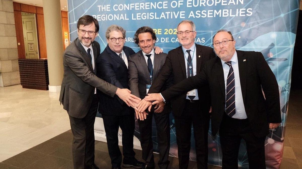 En la primera semana de octubre se cumple un año de la presidencia de Gustavo Matos de la Conferencia de Asambleas Legislativas Regionales de la UE.