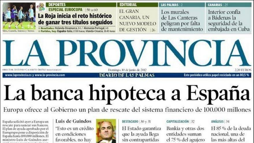 De las portadas del día (10/06/2012) #10
