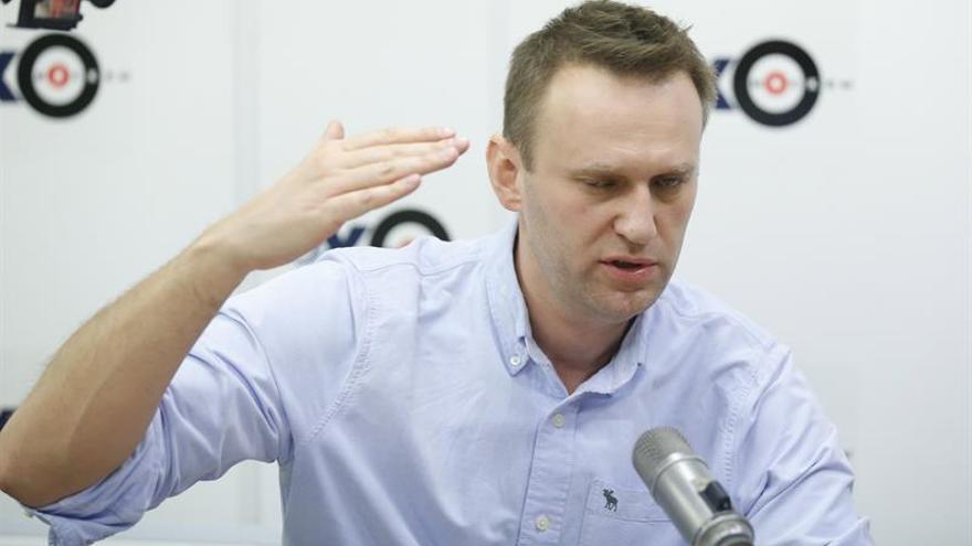 Moscú advierte al opositor Navalni de que la marcha del domingo será ilegal