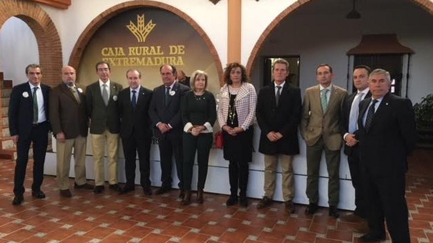 Celebración de asamblea general  Ordinaria de socios de Caja Rural de Extremadura