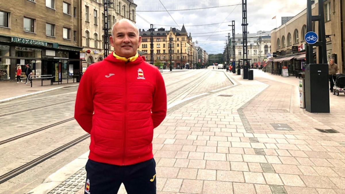 César Martínez, en Tampere