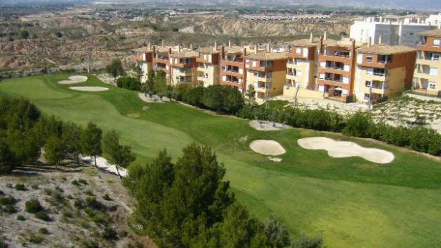 La urbanización de Altorreal, en Molina de Segura