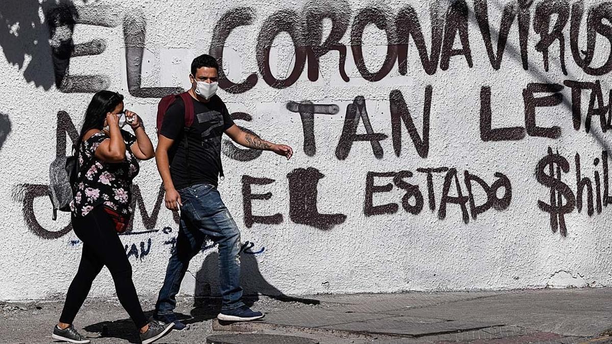 Chile vuelve al confinamiento por el aumento de casos.
