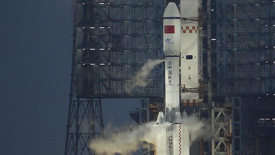 Un carguero espacial chino logra el segundo acoplamiento a un laboratorio orbital