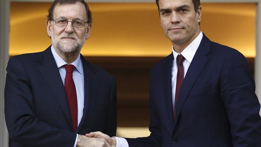 El 54,6 por ciento de los españoles, en contra de una coalición PP-PSOE, según un sondeo