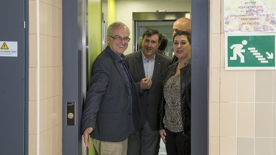 Educación destina 130.000 euros a eliminar barreras arquitectónicas en el IES Foramontanos