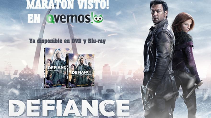 Regalamos packs de 'Defiance' en el nuevo 'Maratón Visto!' en Qvemos