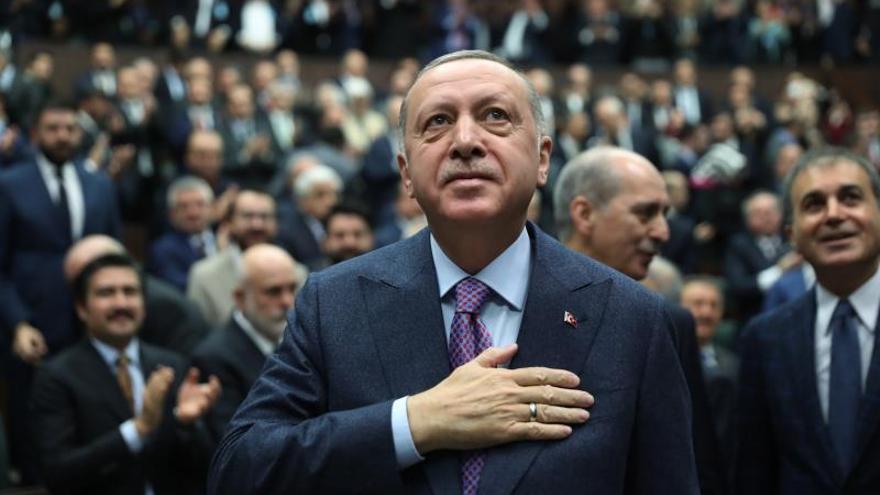 Erdogan critica la absolución de activistas encausados por protestas de 2013